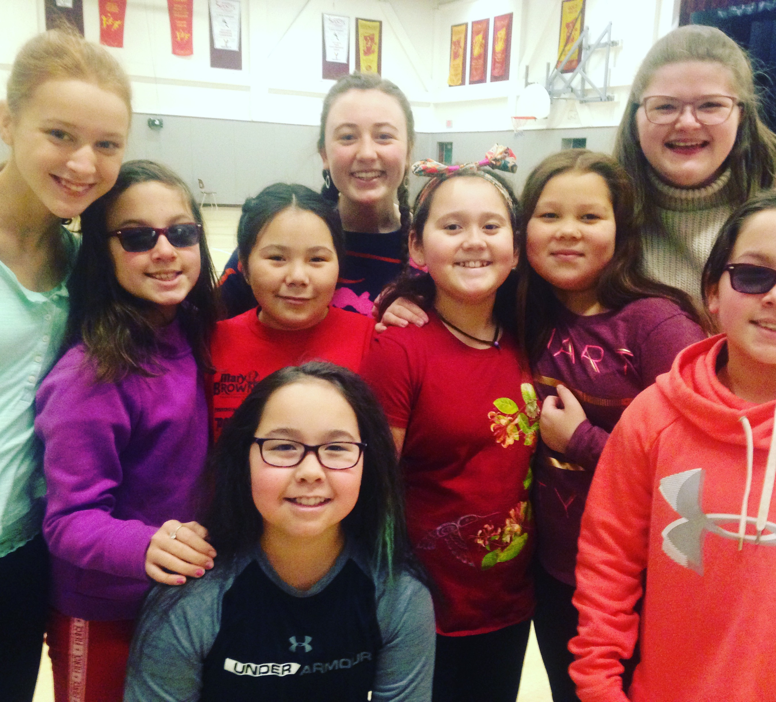 Pan Labrador Choir is full of smiles. (Angela Antle/CBC)