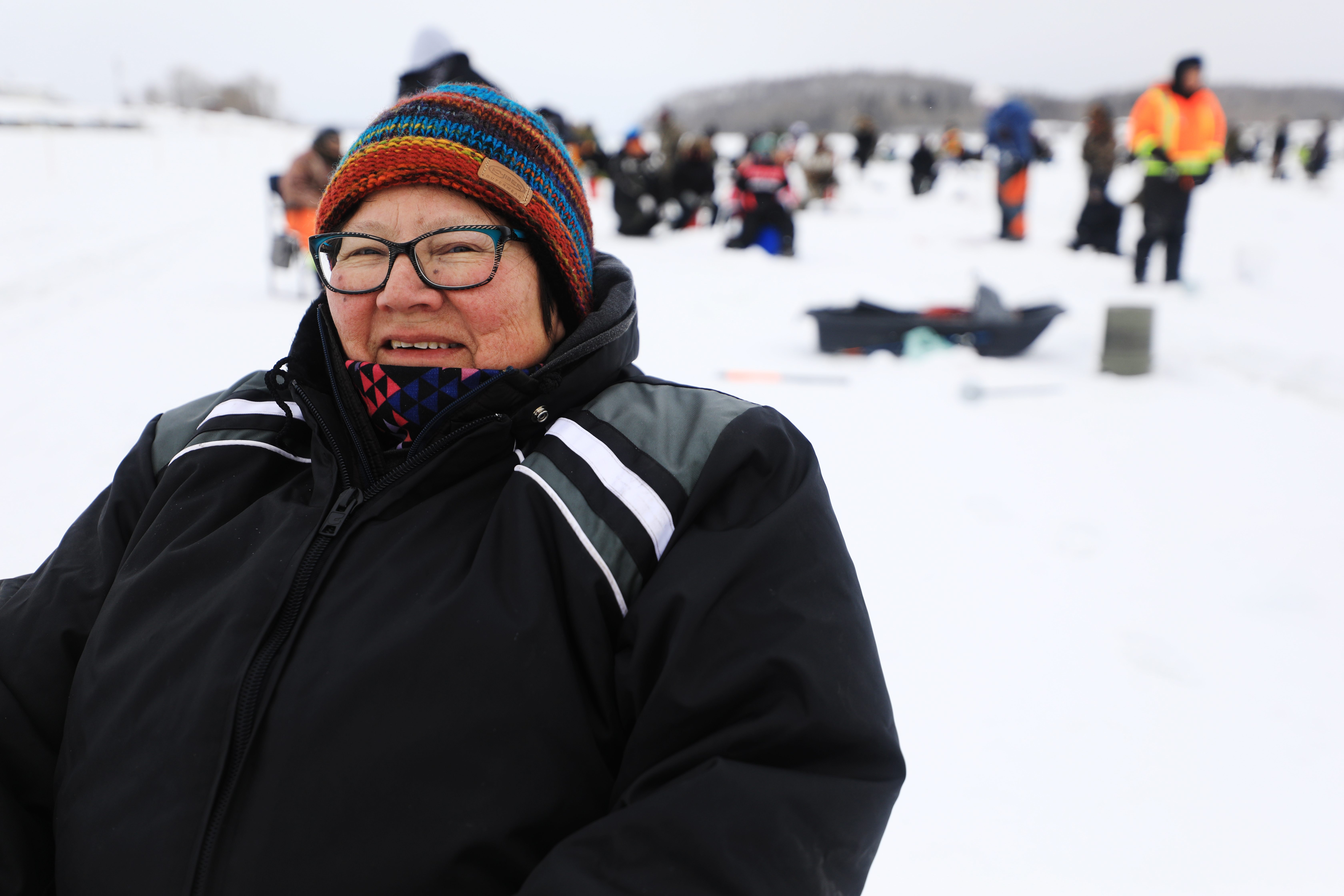 Sallie McLeod is the director of education for the Amachewespimawin First Nation. (Heidi Atter/CBC)