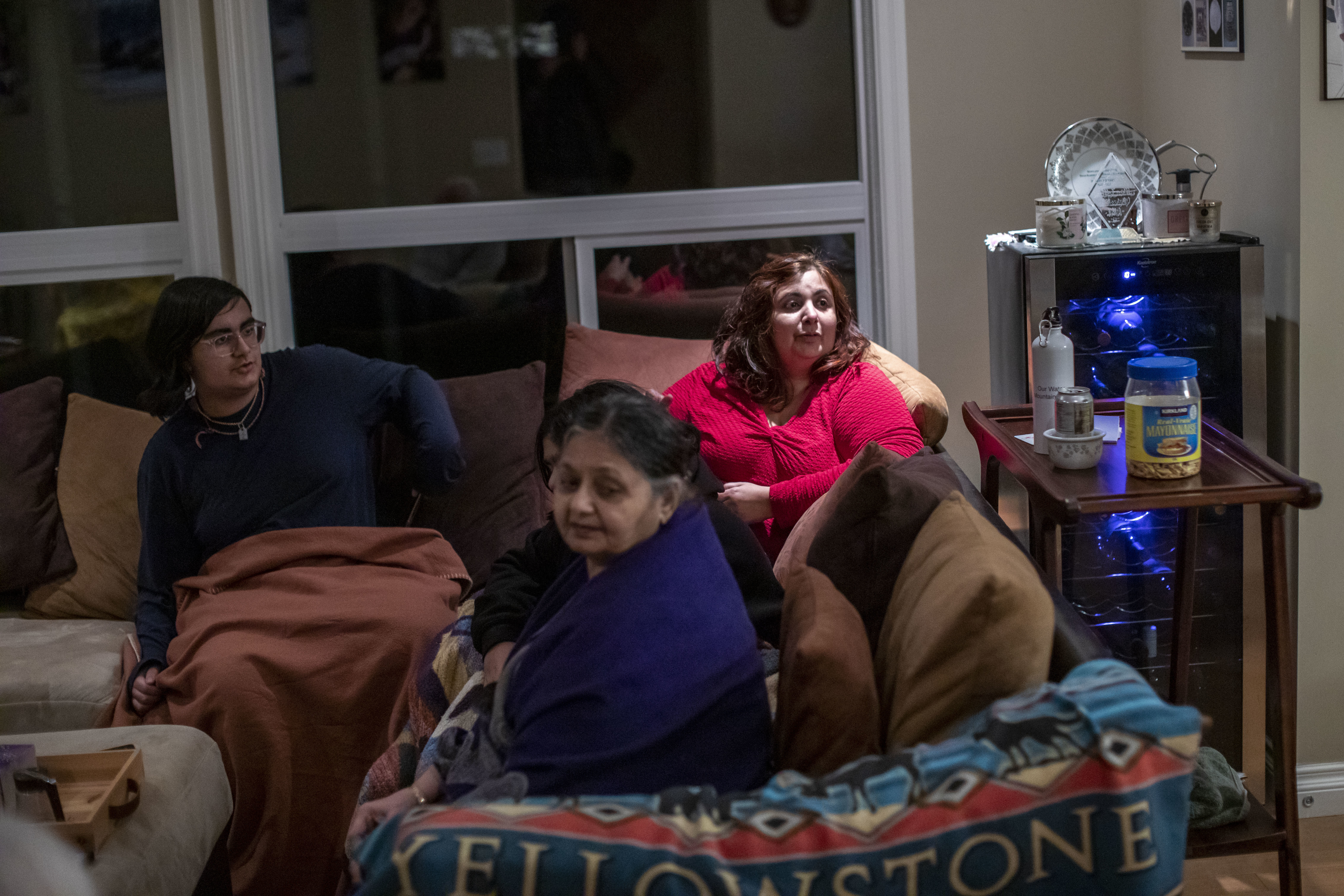 Lakhani says her family regularly discusses B.C.'s public health measures. 'We talk about how we can do our bit for keeping the community healthy.' (Ben Nelms/CBC)