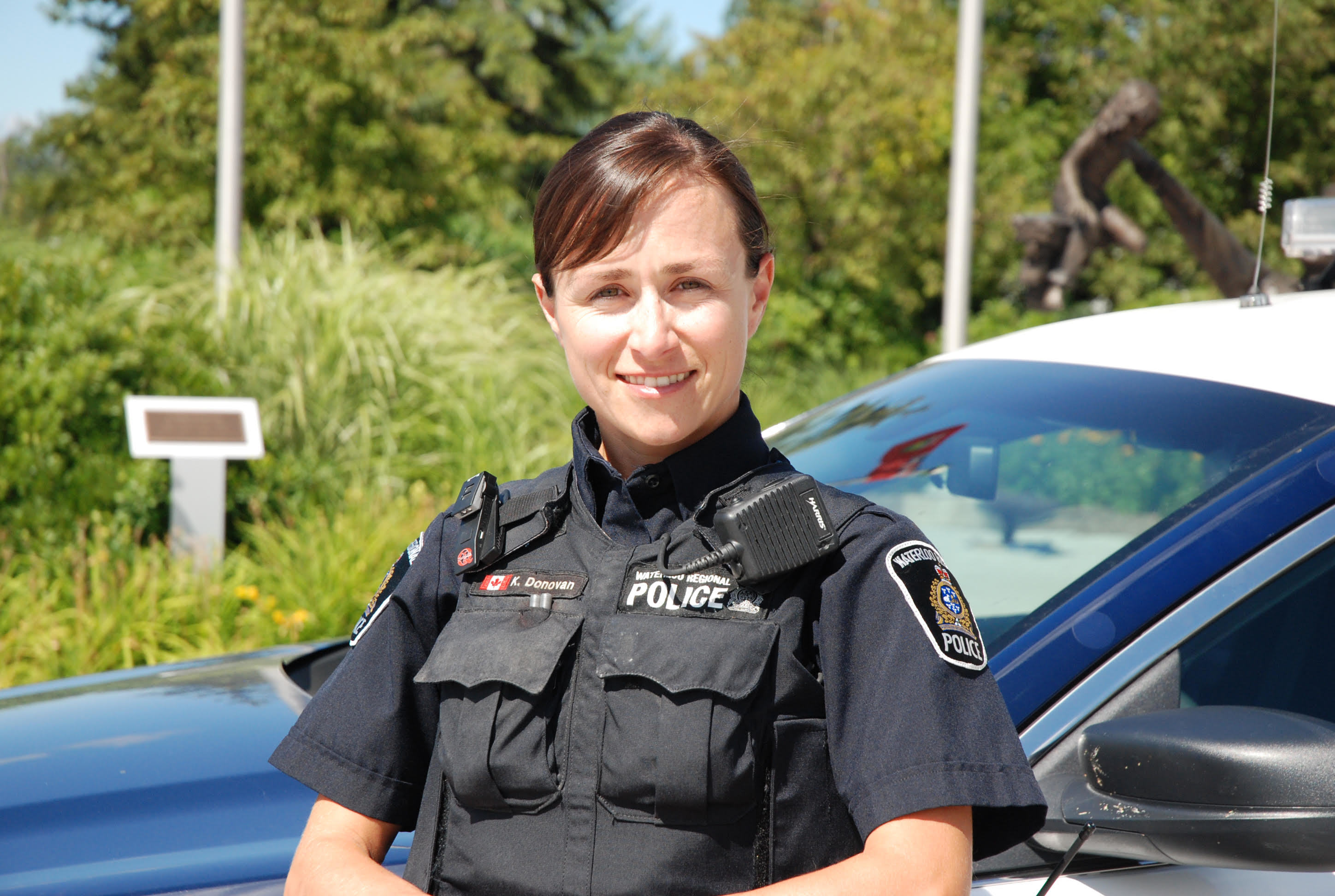 Kelly Donovan, a former Waterloo, Ont., police officer, is now an author and researches police culture. (Submitted by Kelly Donovan)