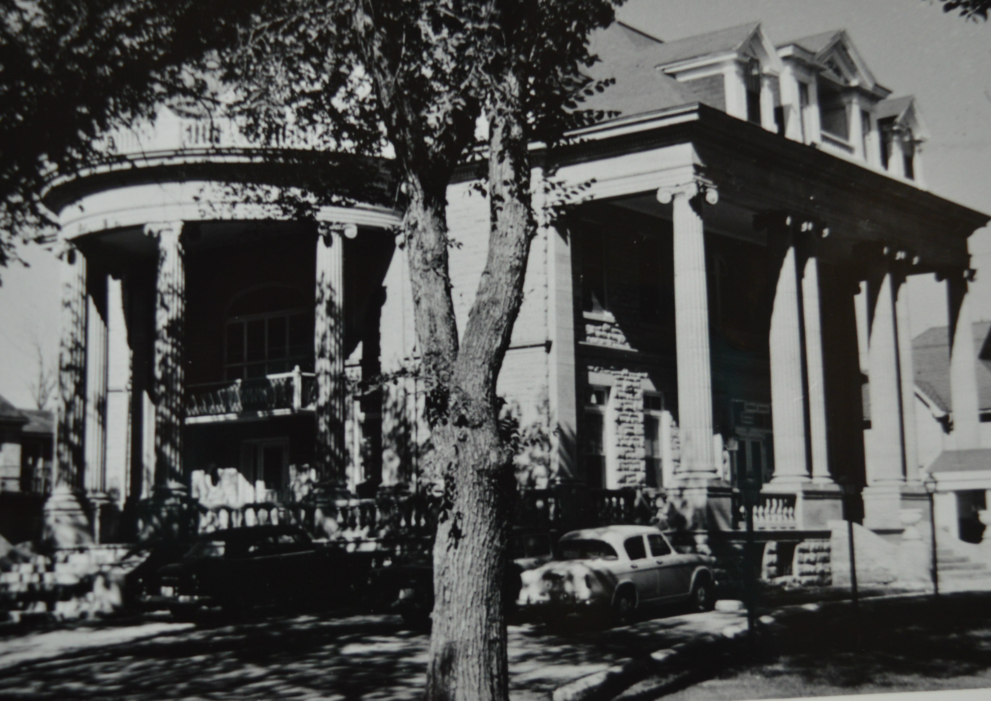 Thomas Kelly's house, shown in a photo from 1964. (Manitoba Archives)