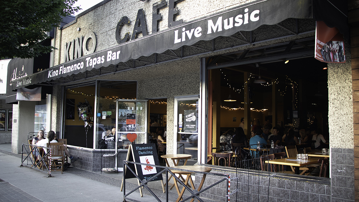 The Kino Cafe, on the busy Cambie corridor, faces uncertainty.