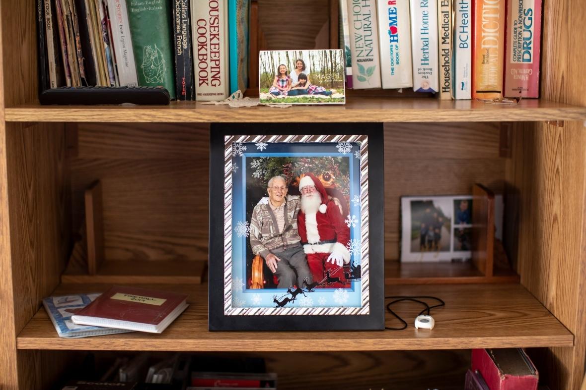'He was hilarious,' said Leonard Newton's granddaughter, Lisa Lasby. (Ben Nelms/CBC)