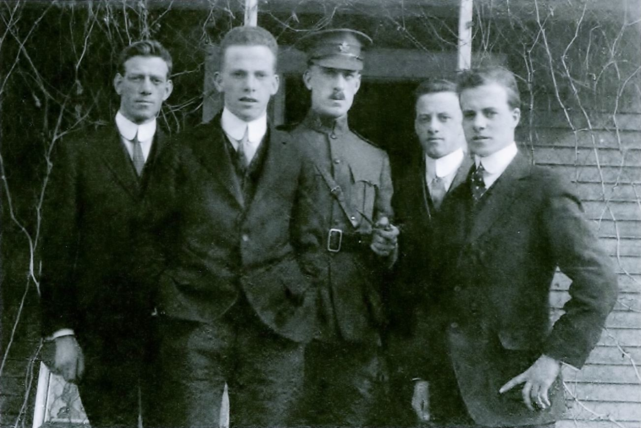 All but one of the Laubach sons enlisted in the First World War. (RSO Archives)