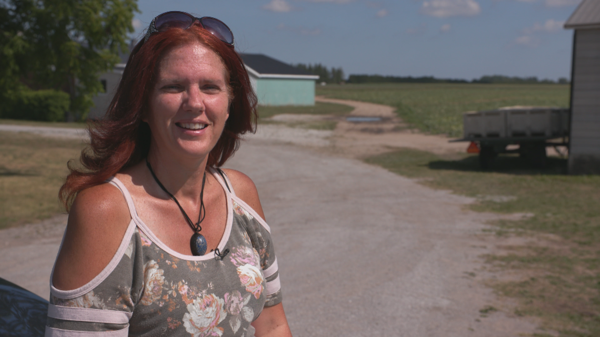 Norfolk County resident and activist Leanne Arnal is concerned about how farm workers are being treated during the pandemic. (Andy Hincenbergs/CBC)
