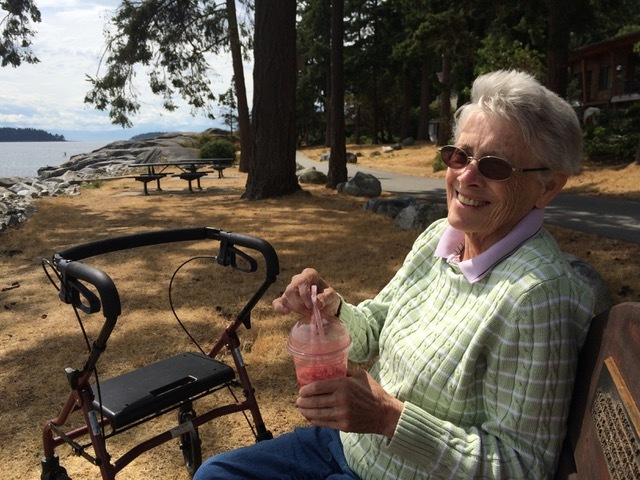 Margaret Shea died on April 2, 2020, after contracting COVID-19 at Lynn Valley Care Centre in North Vancouver, B.C. (Michael Shea)