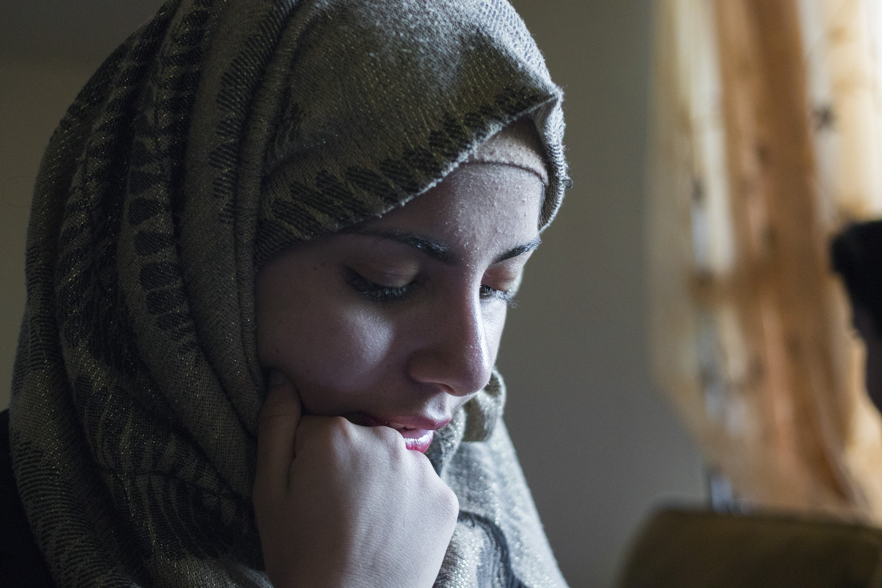 Marwa Harb, 16, at her home in Halifax. (Dave Irish/CBC)