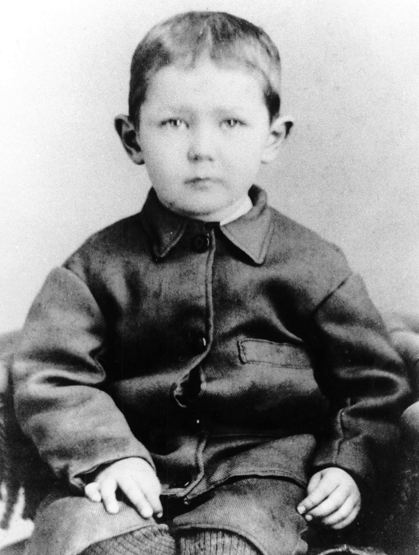 McCrae, at about age four. (Guelph Museums)