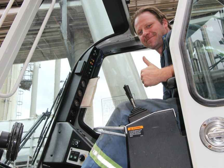 Brandon Niwa was a talented crane operator, set to take over the family business one day. (Submitted by Lindsay Niwa)