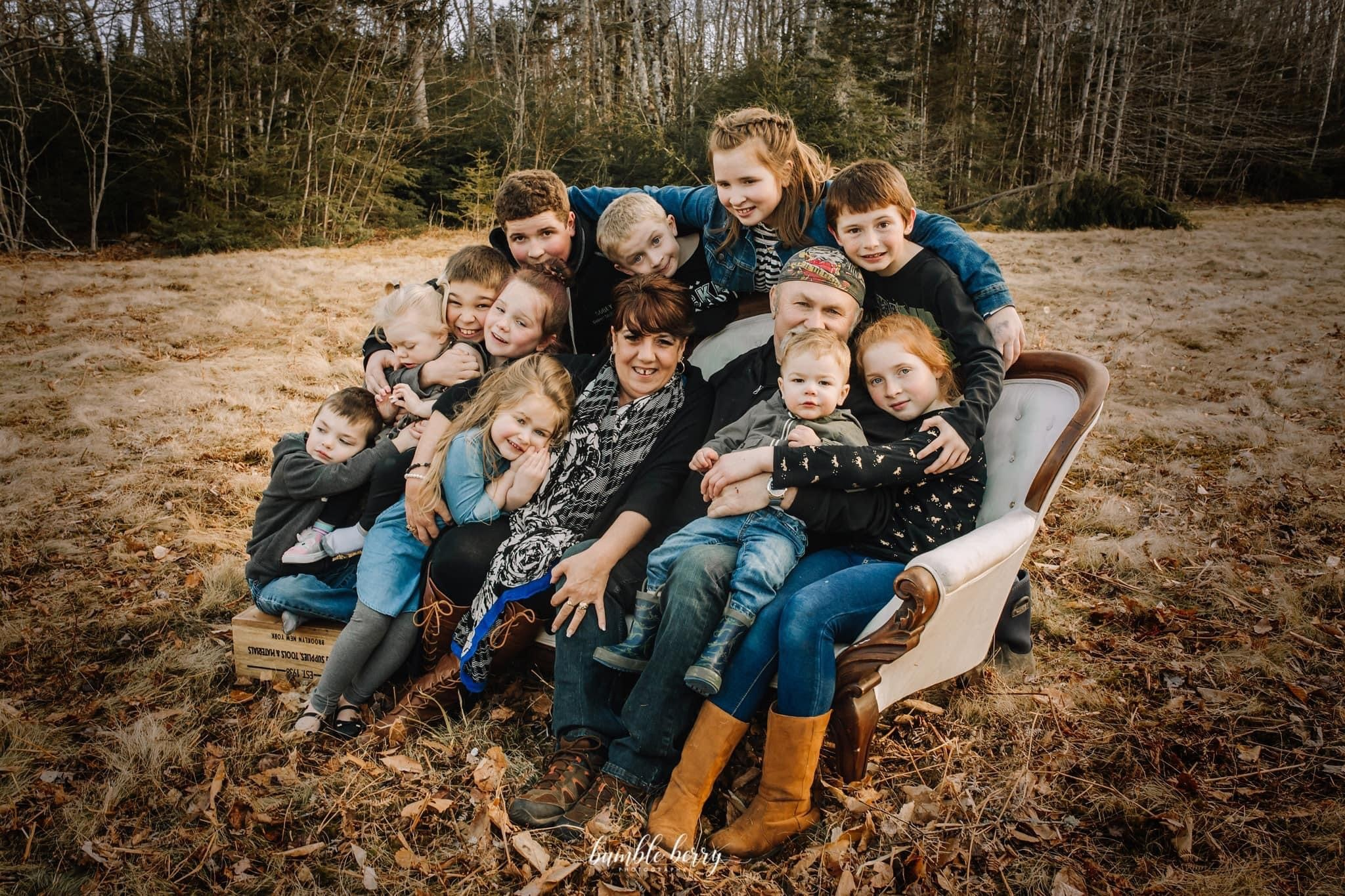 Heather O'Brien was mother to eight and loved spending time with her 12 grandchildren. (Submitted by Darcy Dobson)