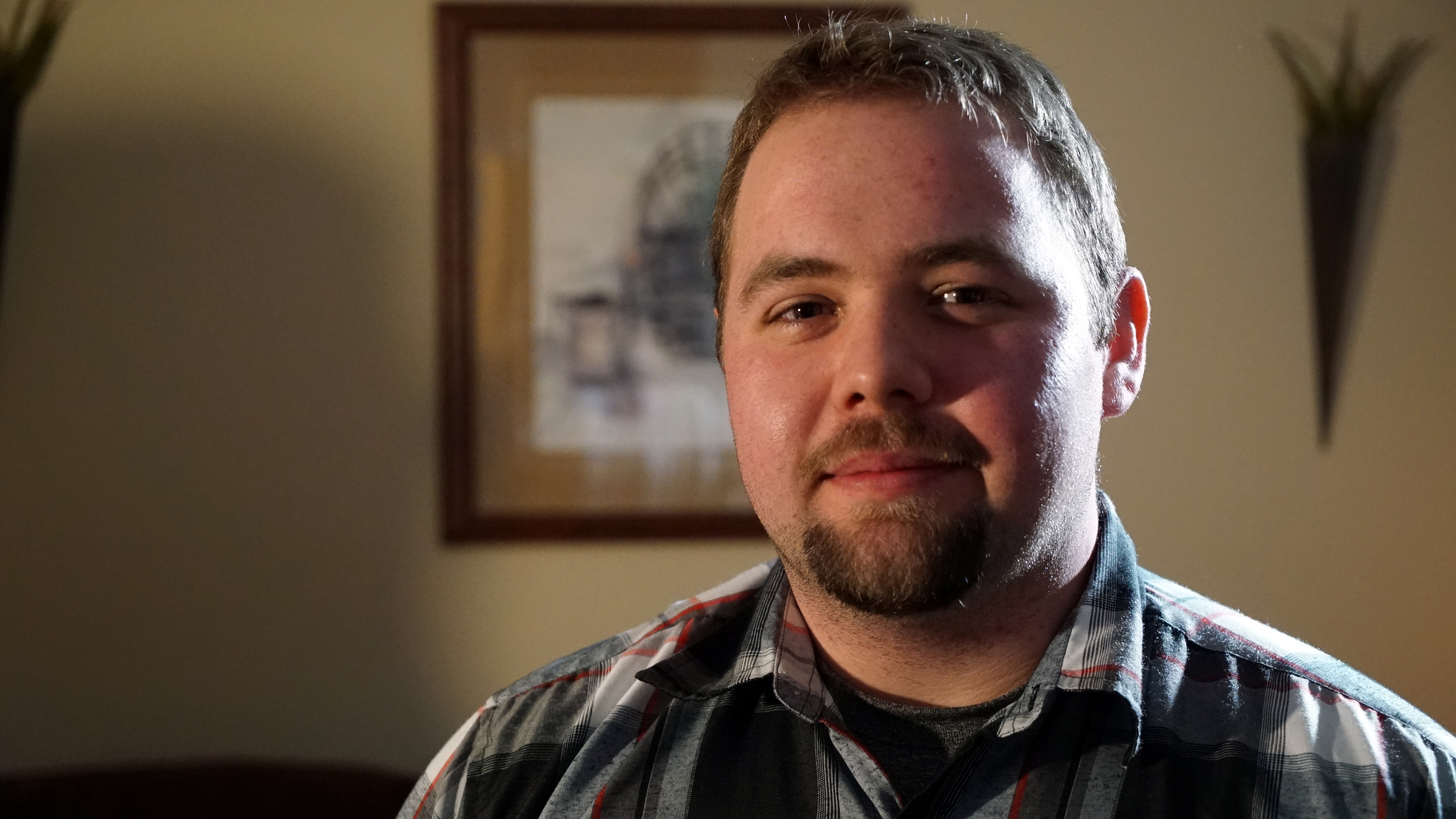 Patrick Pickett says he's learned to cope with the disappearance of his older brother, but would like answers about his whereabouts. (Paul Pickett/CBC)