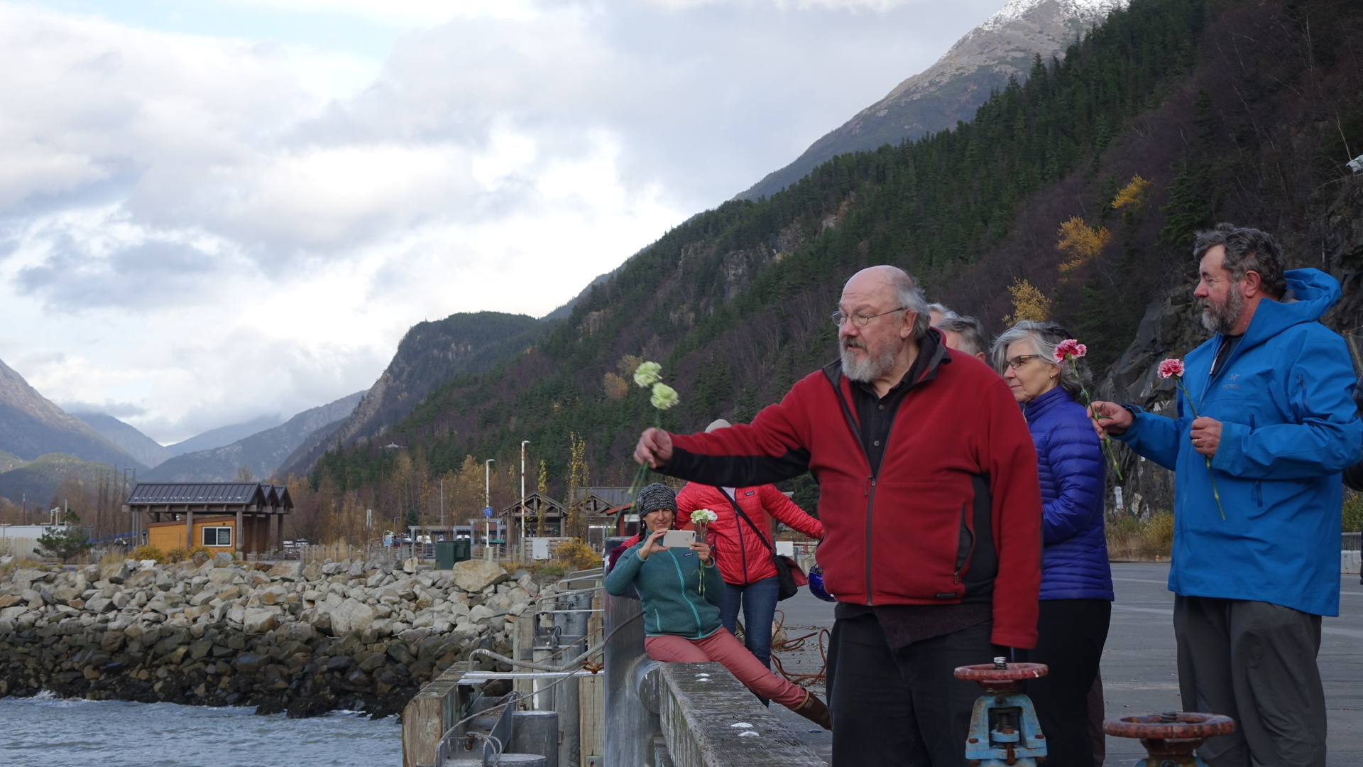The centennial anniversary of the disaster was marked earlier this month in Skagway. (Claudiane Samson/Radio-Canada)