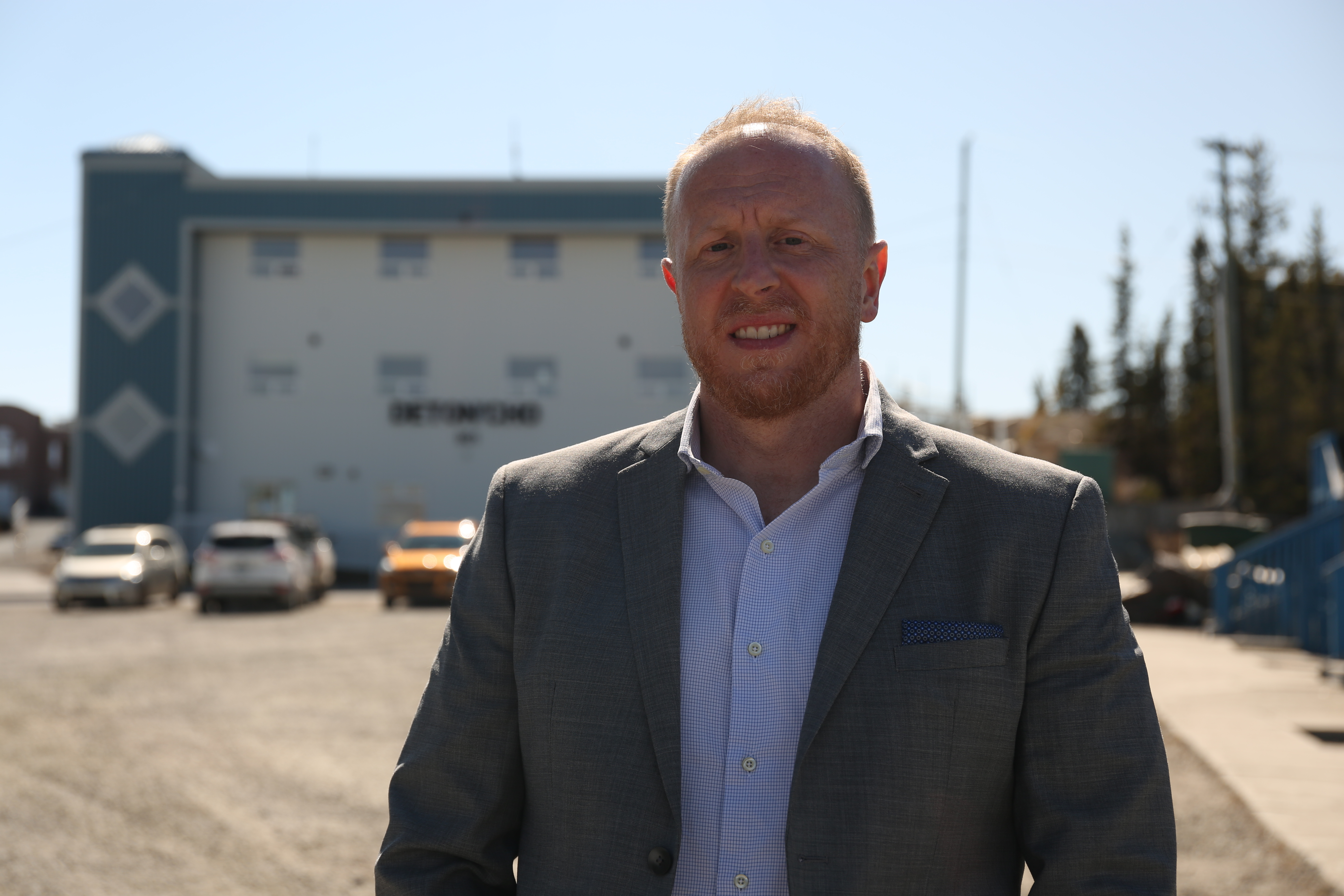 Paul Gruner, CEO of the Det'on Cho Corporation in Ndilo, says he is concerned about the future of the territory's mining industry. (Chantal Dubuc / CBC)
