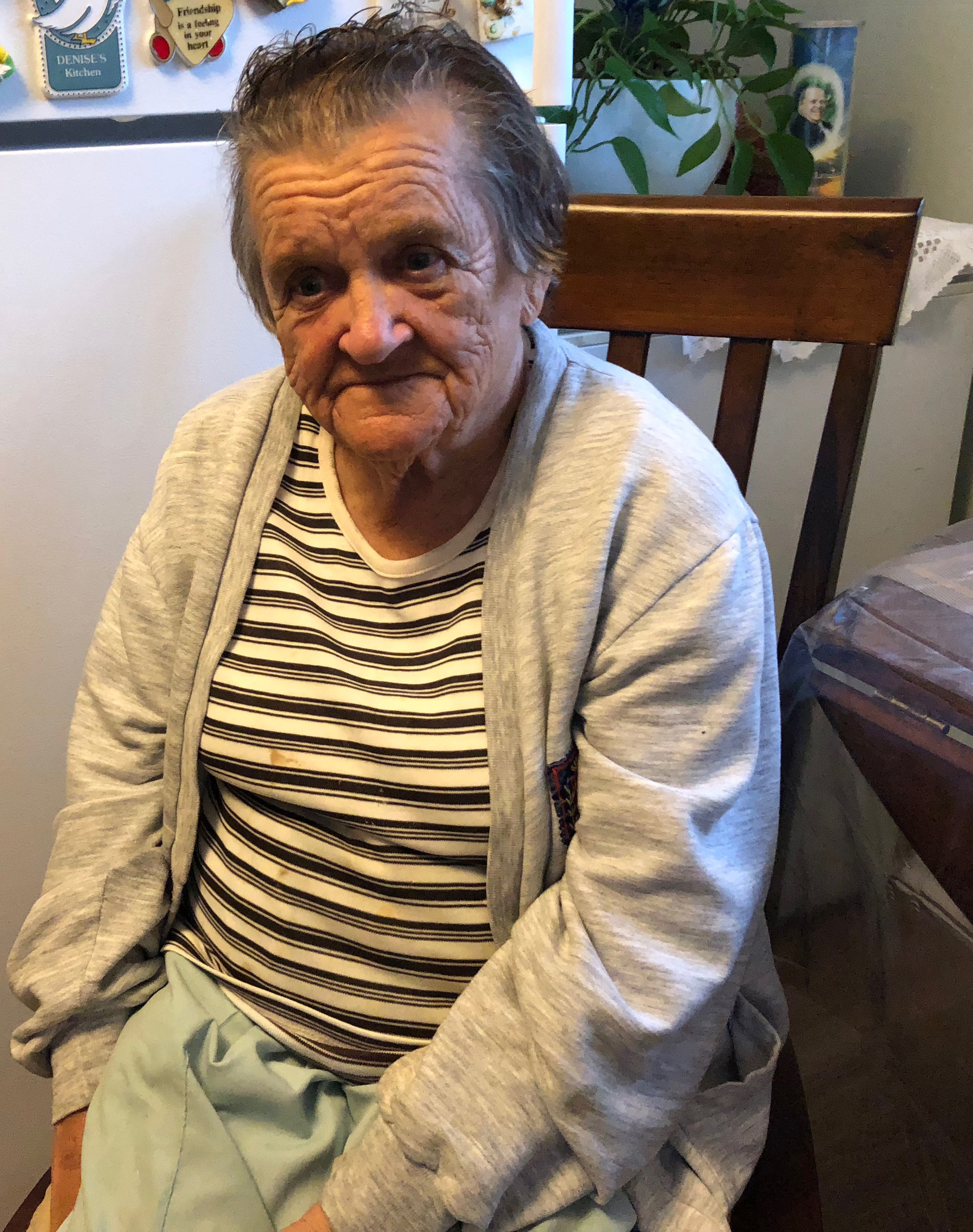 82-year old Esther Laviolette lived in Heritage park for 22 years and had hoped to live out the rest of her years there. (Laura Meader/CBC)