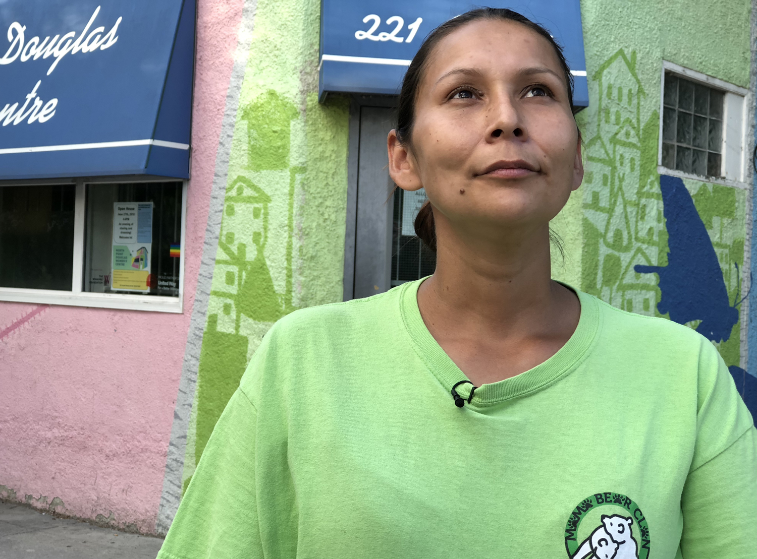 Samantha Chief offers a warm, open and nurturing presence to people on the street in Winnipeg. (Sean Brocklehurst)