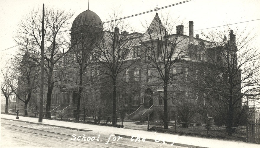 The School for the Deaf in Halifax is shown in 1916. (Halifax Municipal Archives)