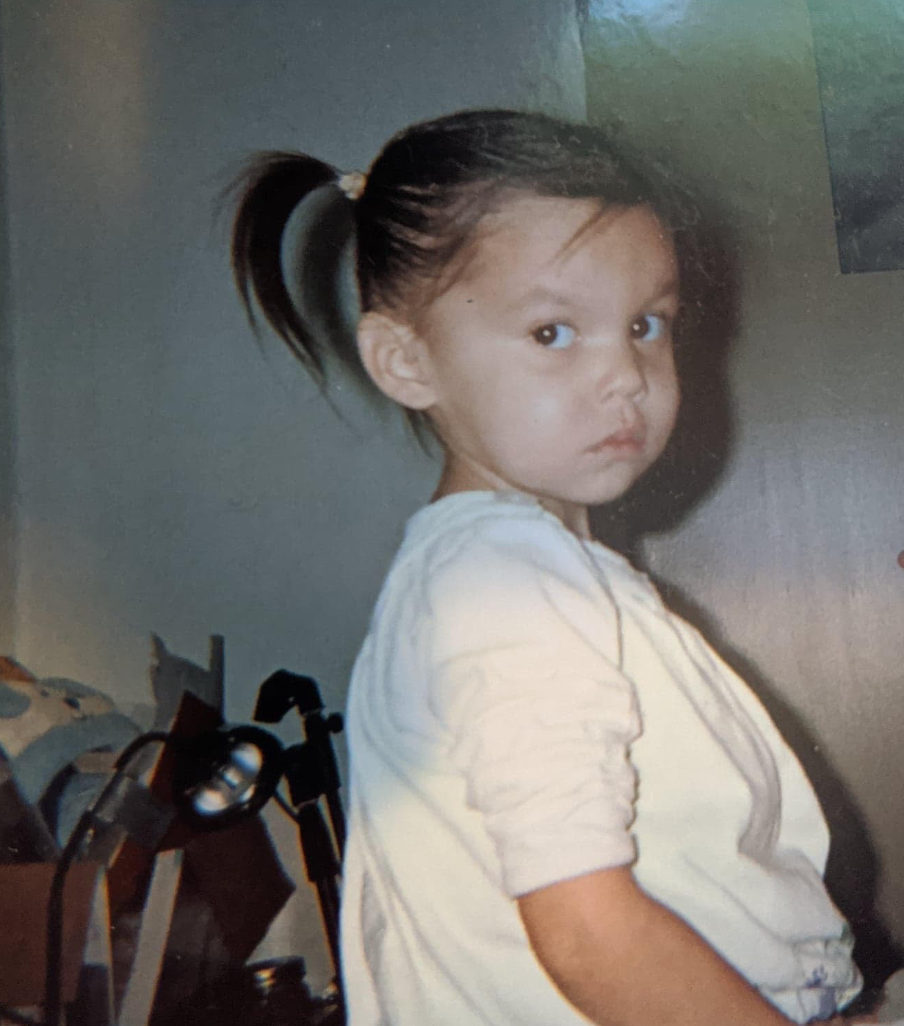 Serenity when she was three. (Supplied)