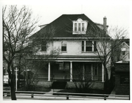 Hamilton's home at 185 Kelvin St., later renamed Henderson Highway, was the centre of his paranormal investigations.