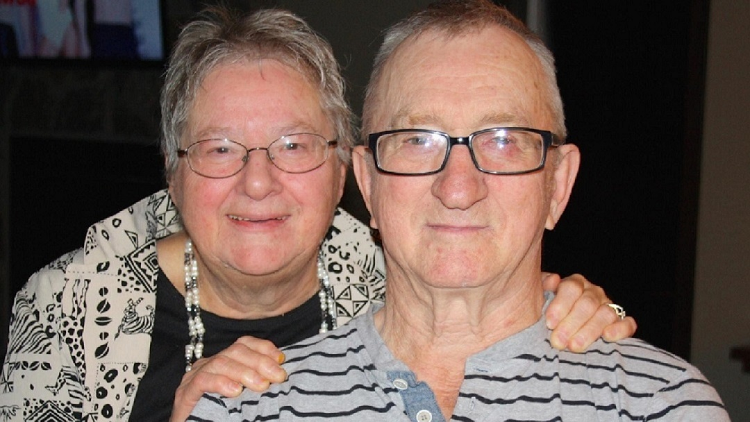 John and Helen Eberherr spent 55 years together in Prince George, B.C., and died in the local hospital just days apart in January 2021. (Submitted by Tracy Glaicar)