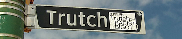 There have been periodic campaigns to rename Trutch Street, named for B.C.'s first lieutenant-governor, a man who reduced the size of reserves established by Gov. James Douglas by up to 92 per cent.