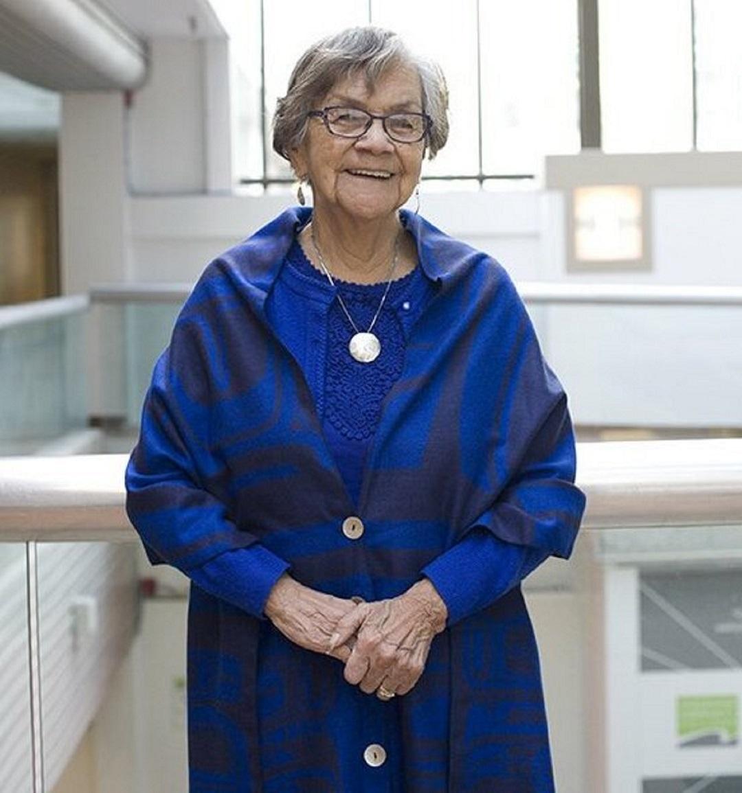 Beloved 'Namgis elder, Lilly Whonnock, died of COVID-19 on Jan. 30, 2021, in Burnaby. (Twitter/@VCCPresident)