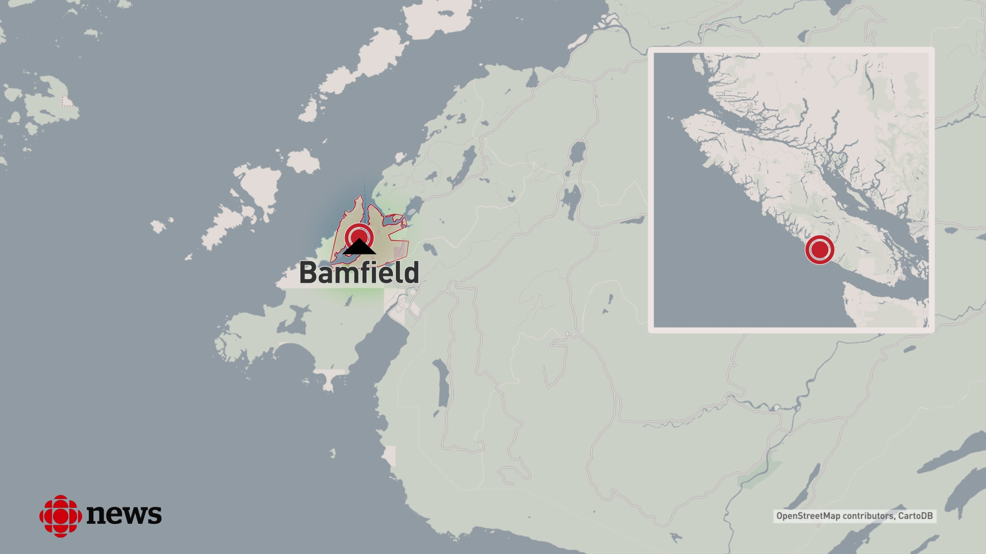 The village of Bamfield is located on the remote west coast of Vancouver Island.