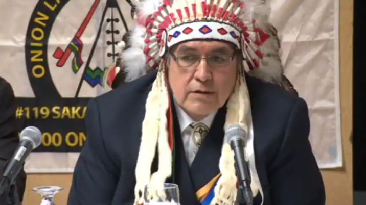 Onion Lake Chief Wallace Fox was a vocal opponent of the Conservative federal government's legal efforts to force First Nations to release financial information. (CBC)