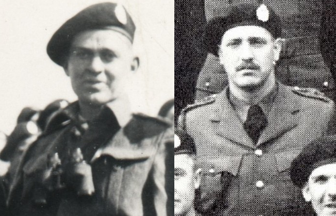 Donald Grant Worthington, left, and his brother John Robert Worthington, right, are both buried in the Bretteville-sur-Laize Canadian War Cemetery in Calvados, France. (City of Vancouver Archives)