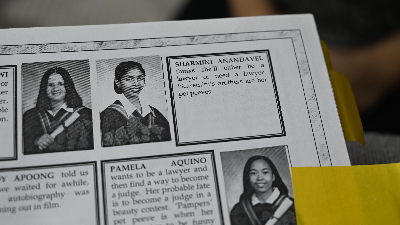 ஜூன் 12, 1999 இல் காணாமல்போன சர்மினி அடுத்த ஒரு சில வாரங்களில் ஒன்பதாம் வகுப்பைப் பூர்த்திசெய்ய்திருப்பார். (CBC)