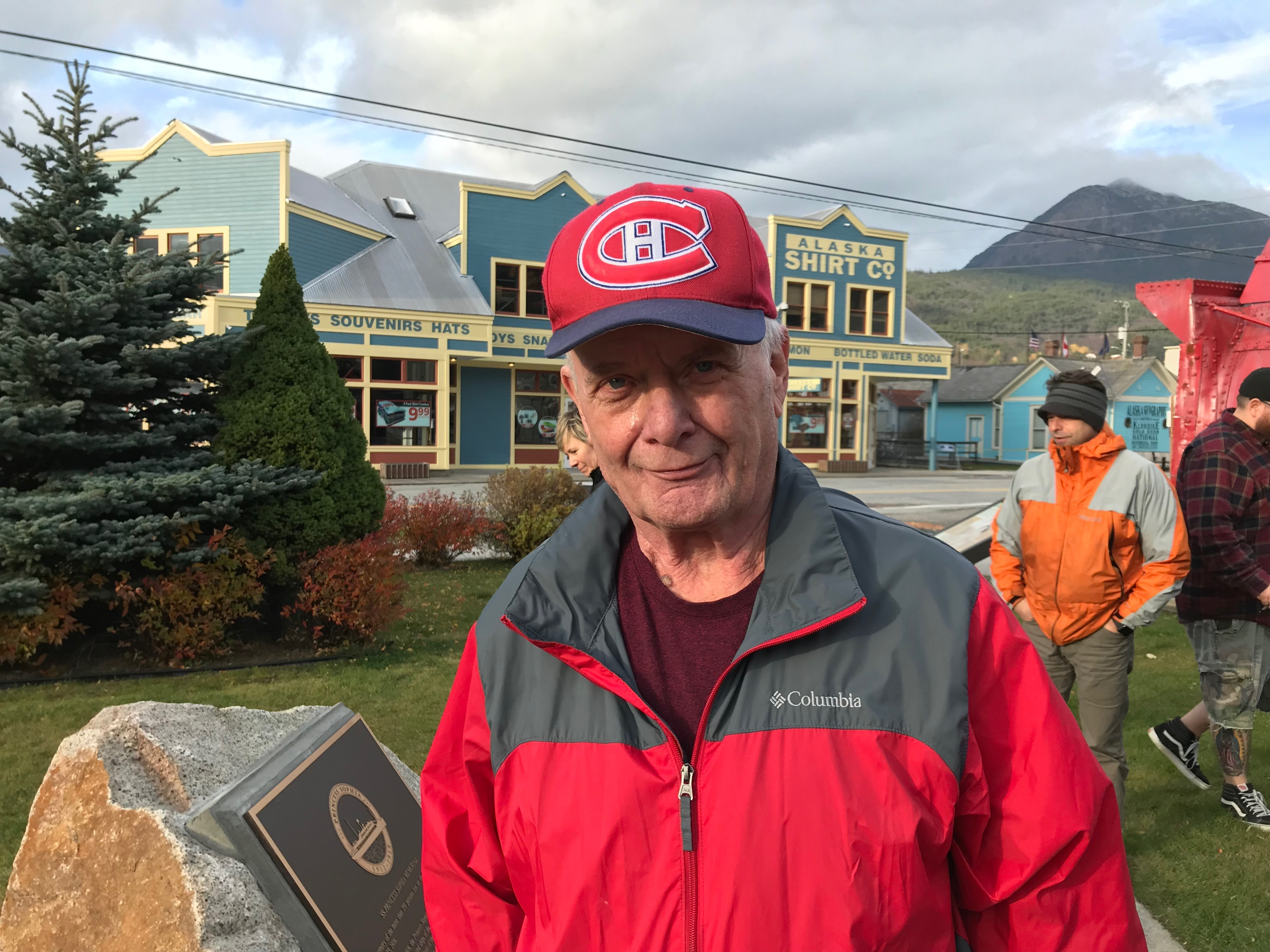 Ralph Zaccarelli's grandfather was on the Sophia, moving back south after 20 years in Dawson City (Claudiane Samson/Radio-Canada)