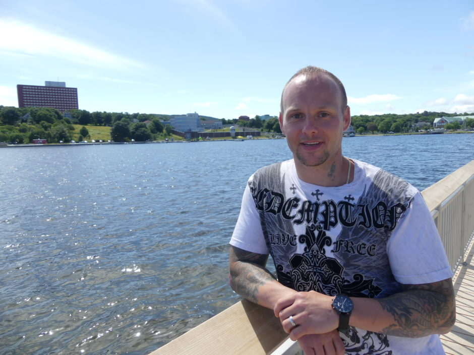 Richard Driscoll spent the majority of his adult life behind bars. He credits a prison publication for helping him get out for good. (Ariana Kelland/CBC)