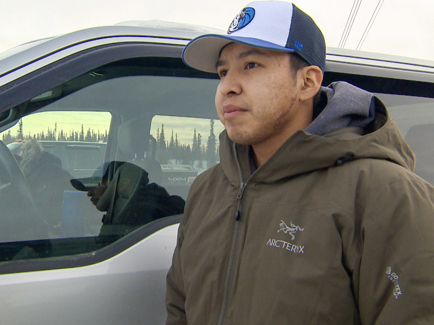 Boris Eyakfwo, a Gameti resident, says the pandemic has made it even harder than normal to access groceries, so people are trying to hunt more country food.  (Sidney Cohen/CBC)