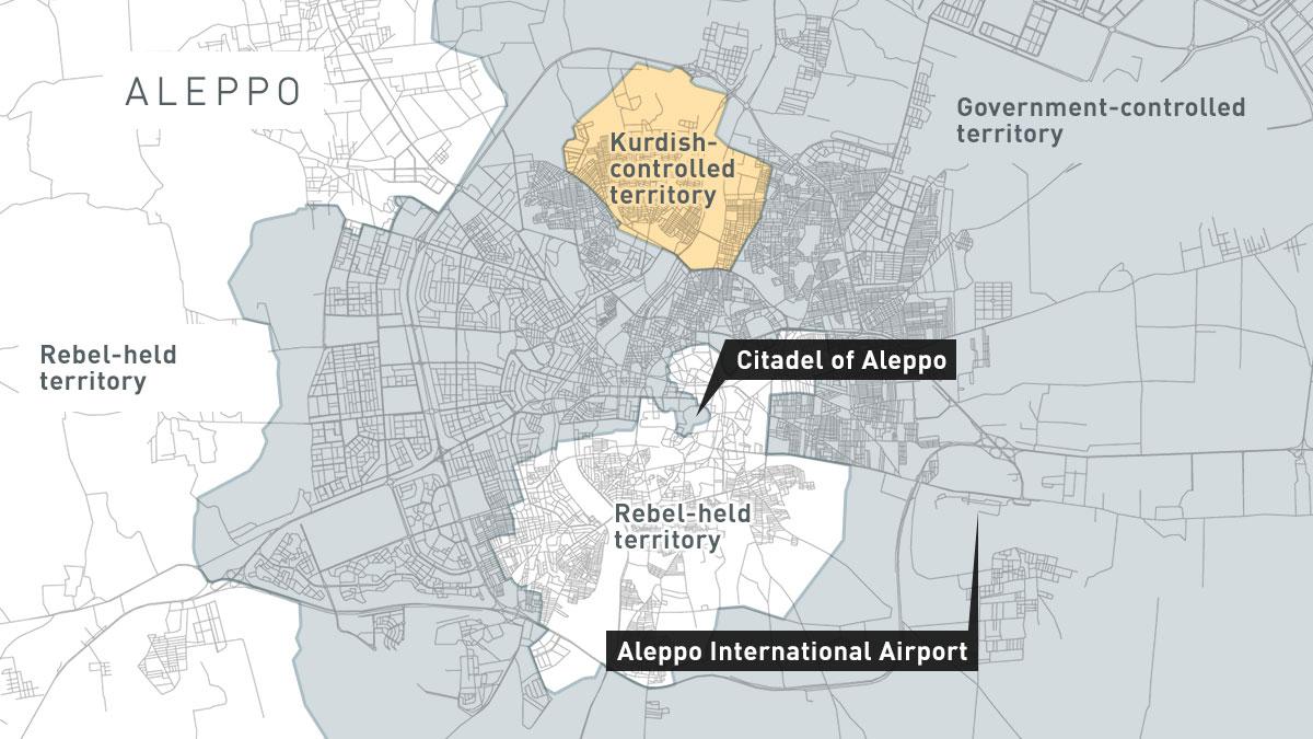 Aleppo Syr Battlefronts1