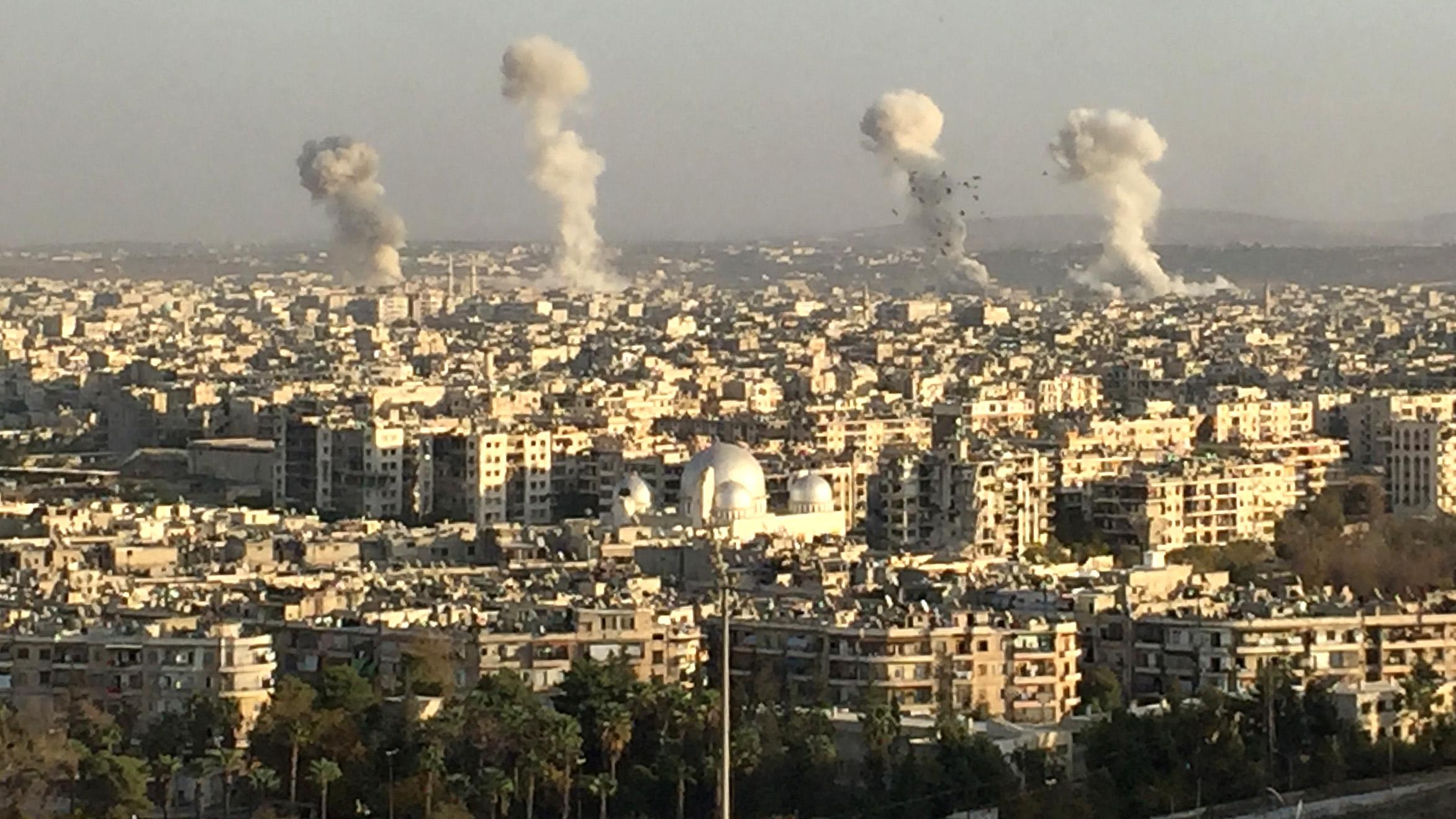 Aleppo Bombling Run