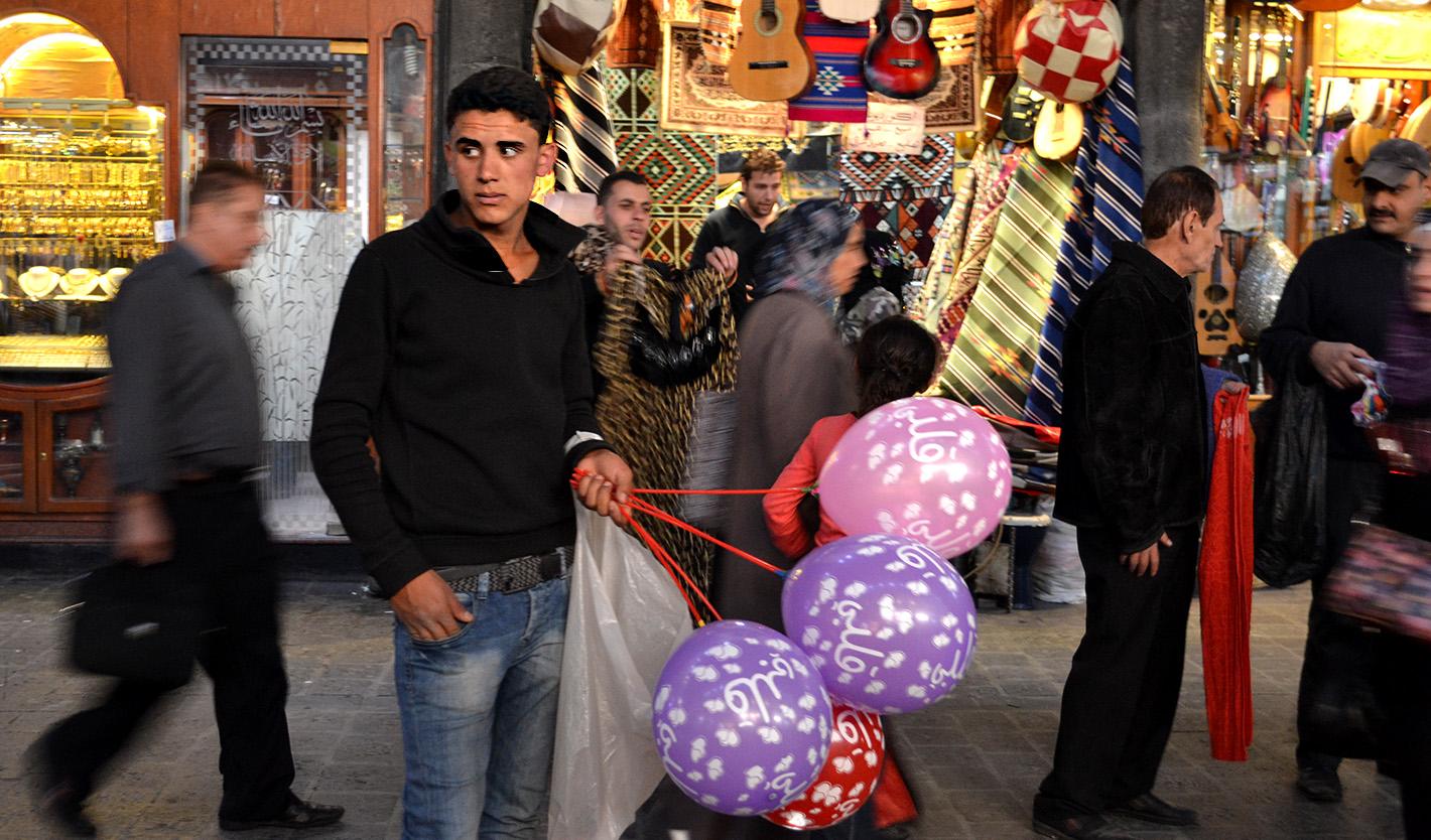 Aleppo Damascus Balloons
