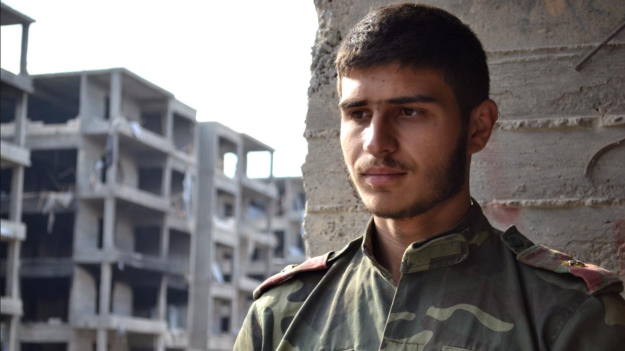 Aleppo Sad Soldier2