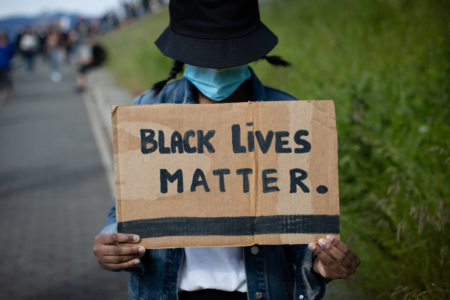 """""""We had to wait until today and [the release of] that awful video for people to really understand what is BLM.…so lets make police and people who are supposed to protect us accountable for their actions."""" - Anonymous"""