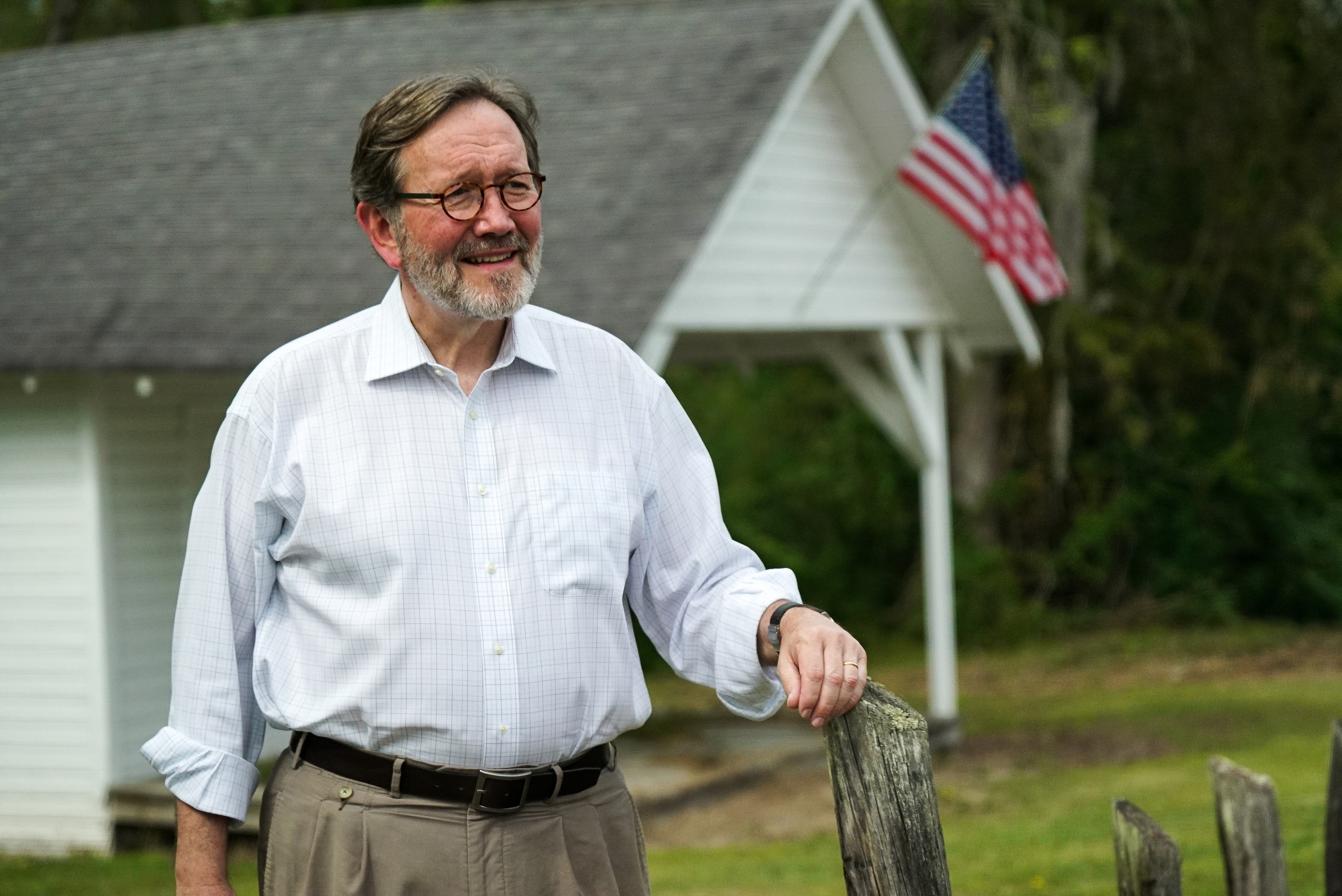 Archie Parnell was a tax law professor in Sumter, S.C., before running as a Democrat in a special congressional election in South Carolina in June 2017. (Jason Burles/CBC)