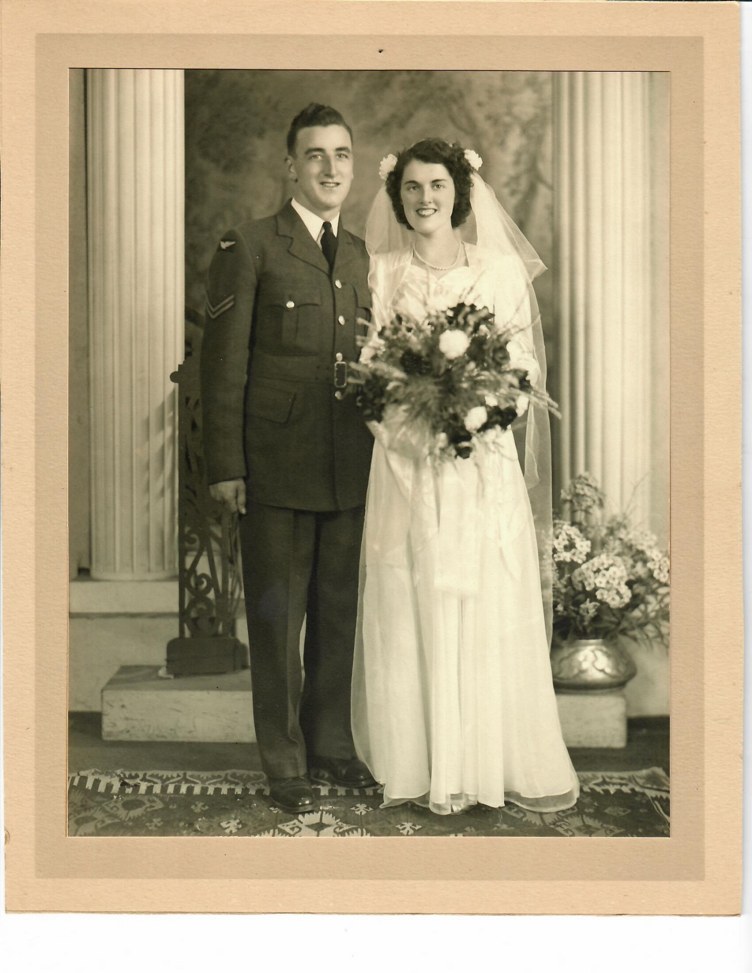 Robert (Bob) and Joan Proctor were married Aug. 15, 1945. (Submitted by Proctor family)