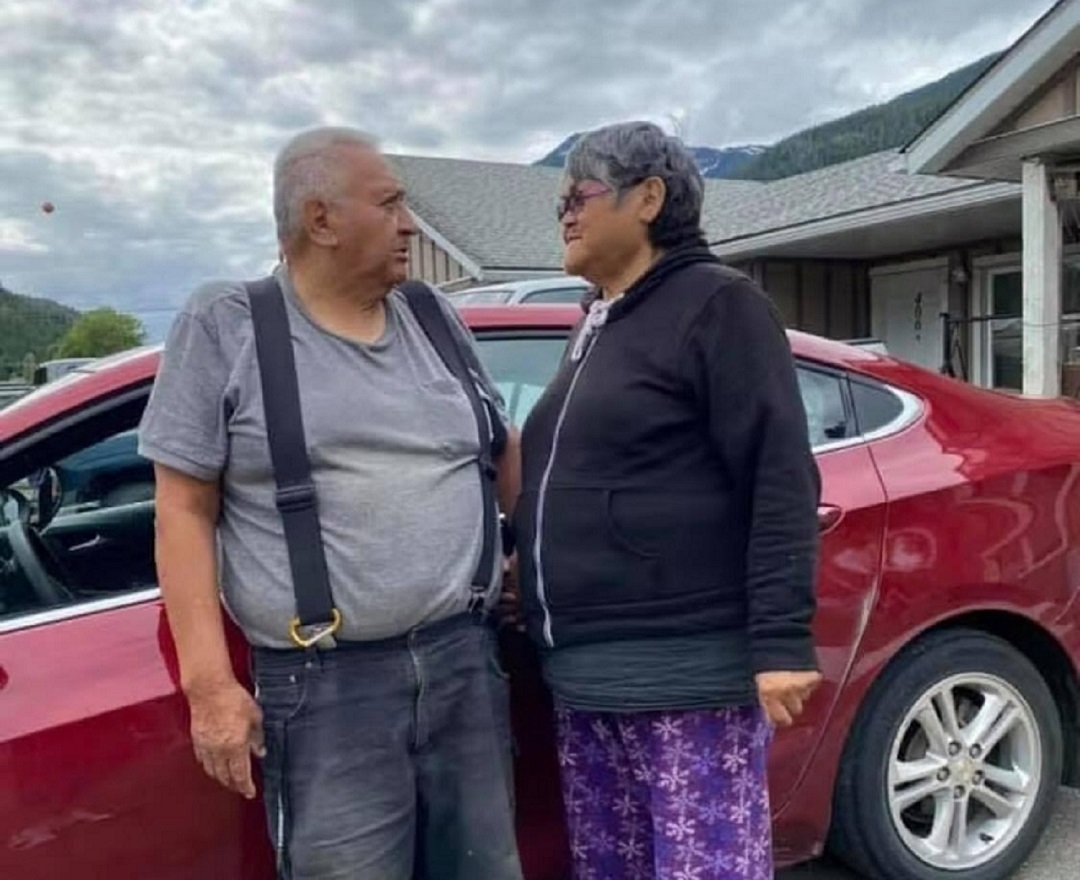 Nisga'a elders Victor Clayton, 73, and his wife, Verna Clayton, 74, died of COVID-19 nine days apart in late January. (Submitted by Vern Clayton)