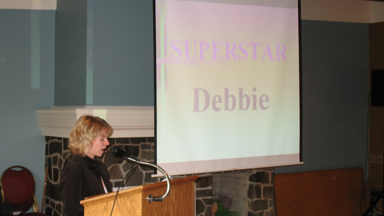 Debbie Maloney has spoken publicly about a dozen times about her stroke and recovery. (Submitted)