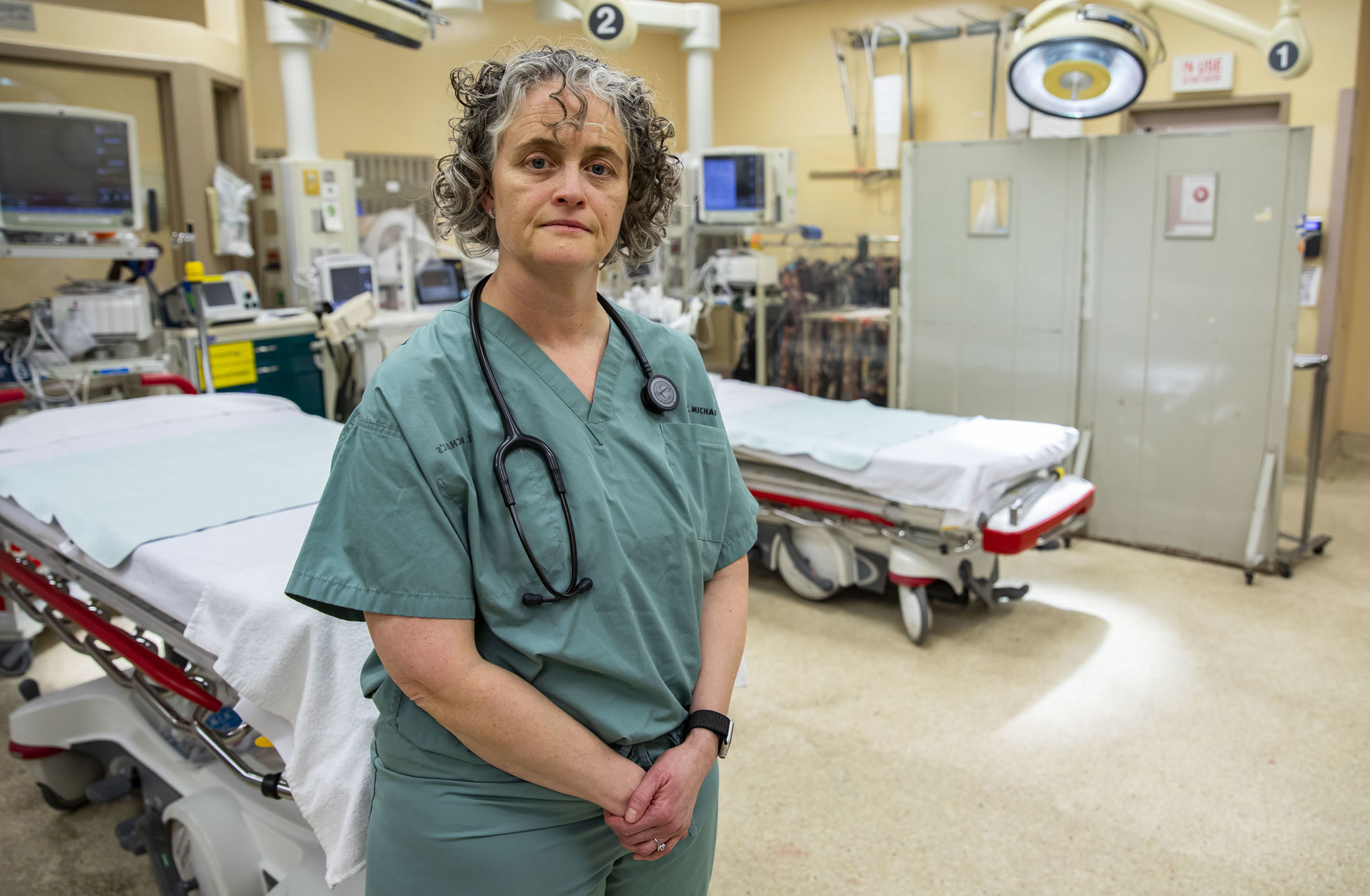 Dr. Carolyn Snider has seen first-hand the effect meth use is having on the Canadian health system. (Michael Wilson/CBC)