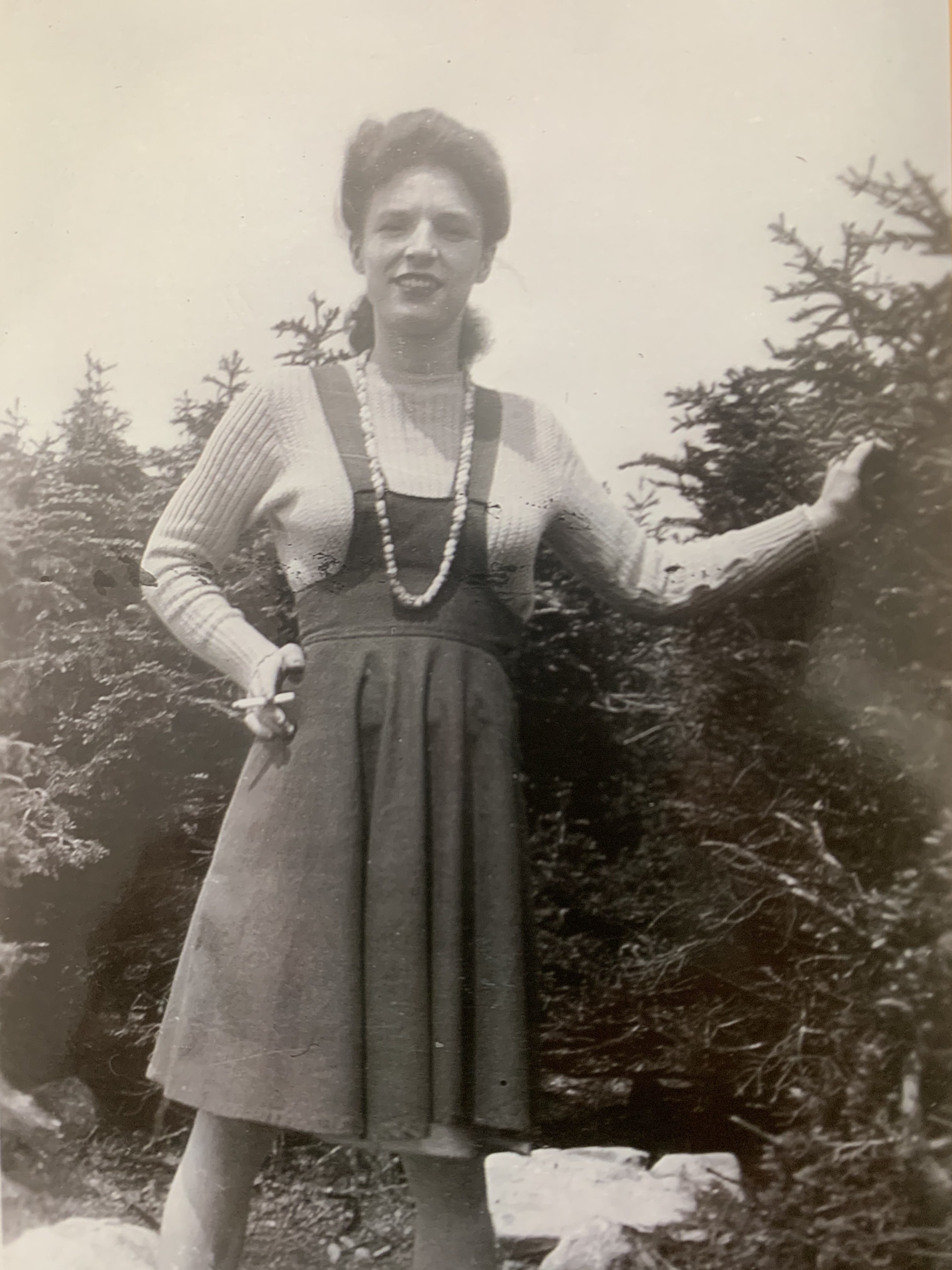 Eileen Penney of Humbermouth, in the early 1940s. Submitted by Terry Gullage