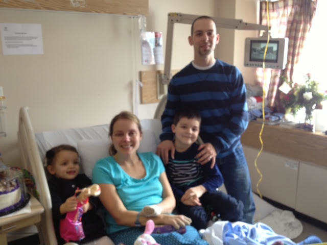 Elaine Dodge-Lynch with her two children and her husband, Lloyd Lynch. (Submitted)