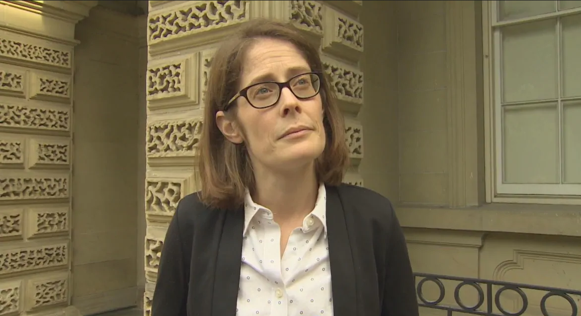 Criminal lawyer Erin Dann says 'we have no sense of how often' police do a no-knock raid but don't find any drugs or lay charges. (CBC)