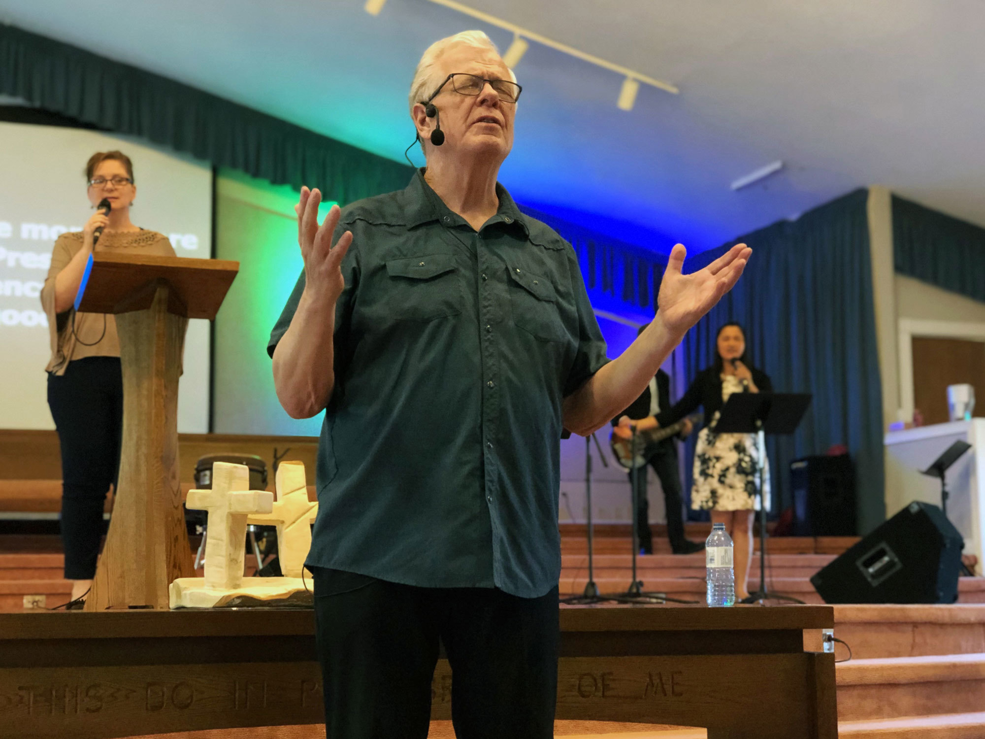 Over the course of two decades, Pastor Bruce Morrison and his congregation at the Christian Fellowship Church in New Glasgow, N.S., donated $150,000 to Gospel for Asia. (Angela MacIvor/CBC)