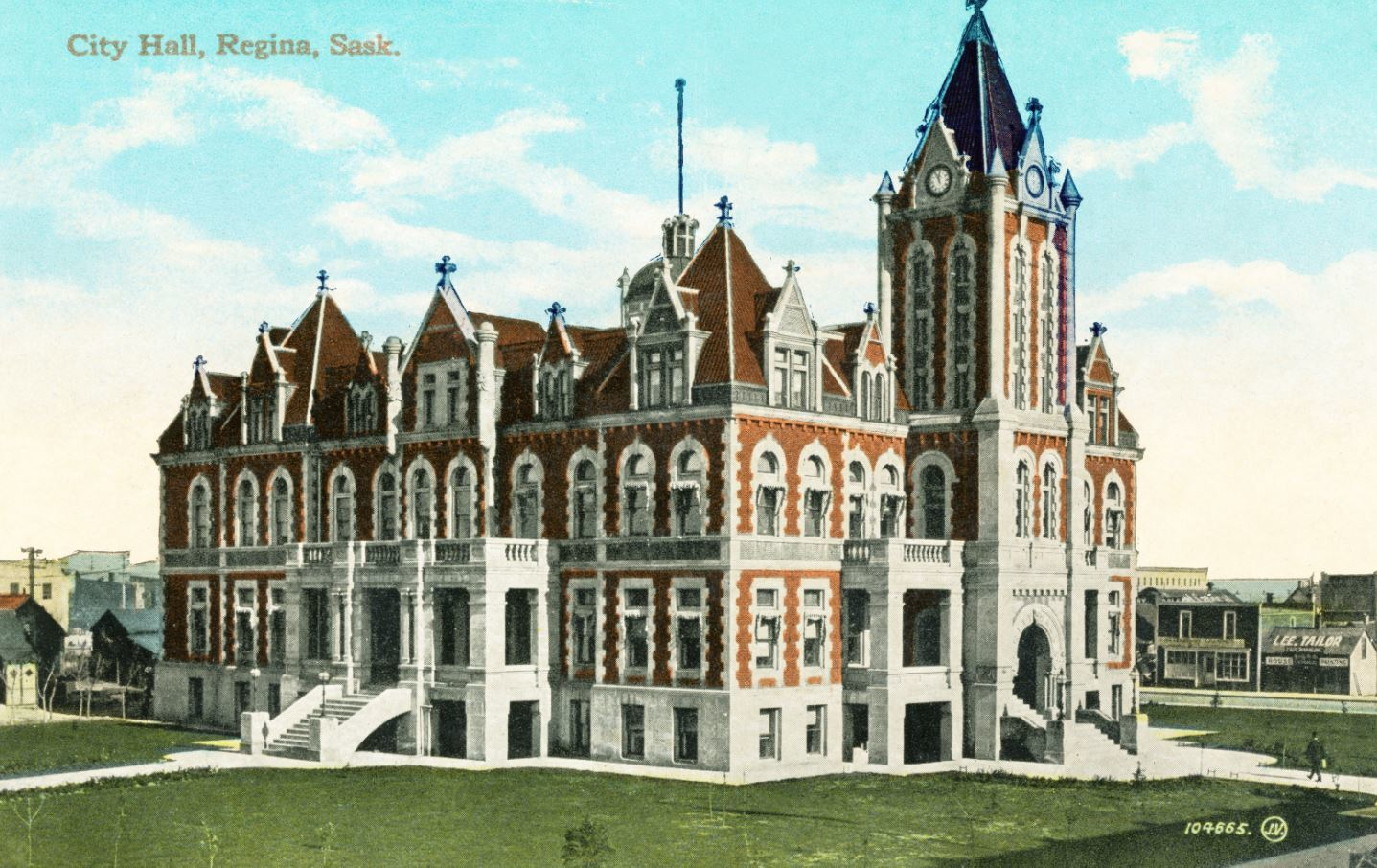 The Regina Orchestral Society's first home was in the original City Hall, located in what is now downtown Regina. (City of Regina Archives-C-0889)