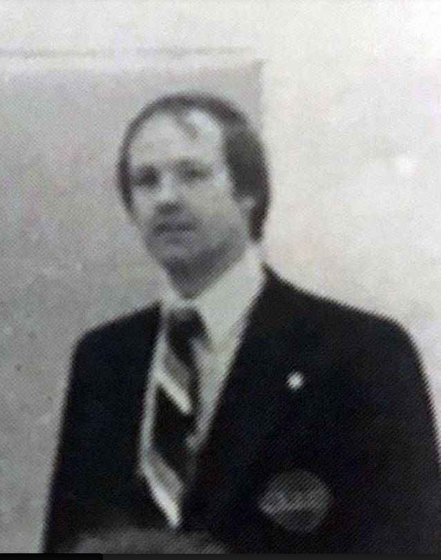 Donald Greenham in 1978. (Bell High School)
