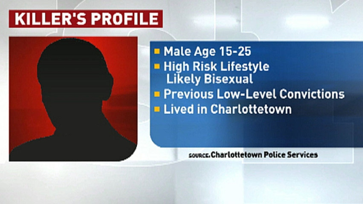 Police were able to put together a profile of killer. (CBC)