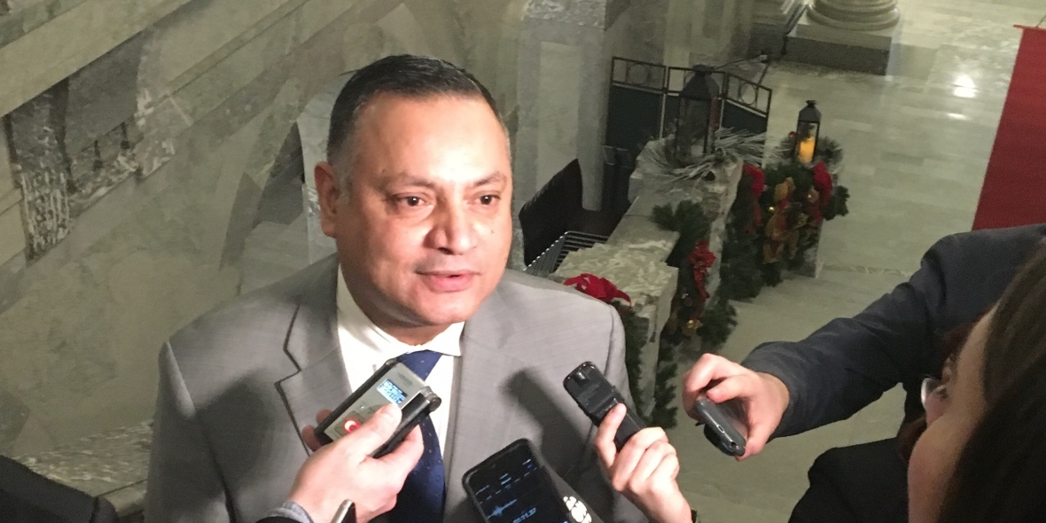 Former MLA Prab Gill wrote a letter to the RCMP last year alleging fraudulent email addresses were affixed to membership forms in order to funnel PINs to the Kenney campaign. (CBC)